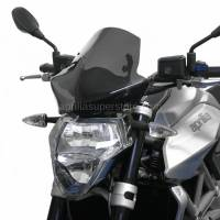 Puig - Puig Dark Smoke Windscreen for 07-09 Aprilia Shiver 750