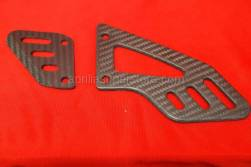 Motorcycle - Controls - Aprilia - CARBON FIBER HEEL GUARDS RSV4 / TUONO
