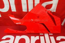 Frame - Front Body - Fairings II - Aprilia - RH side panel,lower v.rosso