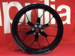 28 - Front Wheel - Aprilia - Front wheel, black