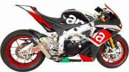 Shop By Bike - RSV4 RF 1000  - AUSTIN RACING GP1R CARBON CAN W/ BLK TIP FOR RSV4 RR & RF