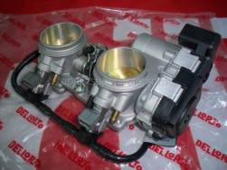 OEM Frame Parts Diagrams - Trottle Body - Aprilia - Rear Throttle body