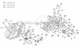 Engine - Crankcases II - Aprilia - Neutral indicator switch m10