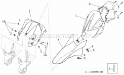 Frame - Front Body - Front Mudguard - Aprilia - FLAP