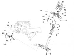 Screw w/ flange M8x25