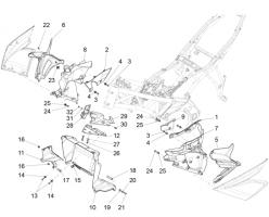 Duct bulkhead SX