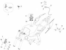 BODY - LOCKS - Seat lock with key