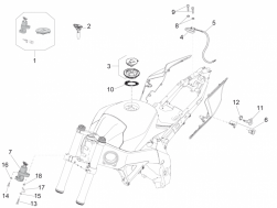 BODY - LOCKS - Fuel filler cap gasket