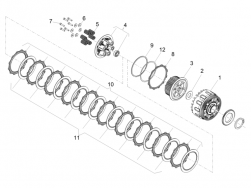 ENGINE - CLUTCH - Clutch pressure plate