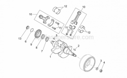 Engine - Drive Shaft - Aprilia - Bushing,blue 35x38x16,5