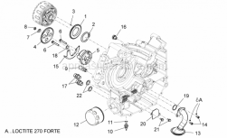 Engine - Oil Pump - Aprilia - STOP WASHER