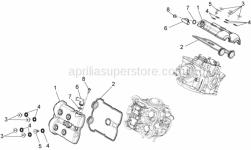 Engine - Valves Cover - Aprilia - CYLINDER HEAD COVER GASKET ASSY