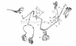 Frame - Abs Brake System - Aprilia - Gearcase