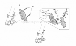 Frame - Front Brake Caliper - Aprilia - CALIPER