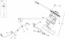 Frame - Fuel Pump - Aprilia - Support