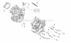 Engine - Crankcases II - Aprilia - FLANGED HEXAGONAL  HEAD SCREW