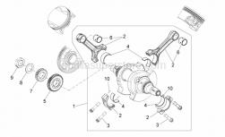 Engine - Drive Shaft - Aprilia - CRANKSHAFT, ASSY