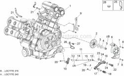 Engine - Engine - Aprilia - Circlip d9