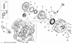 Engine - Ignition Unit - Aprilia - FLYWHEEL SIDE COVER