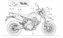 Frame - Decal -Toolkit - Aprilia - Front LH decal