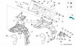 Frame - Frame I - Aprilia - Drift M6x10-25x15