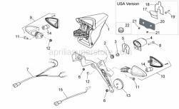 Frame - Rear Lights - Aprilia - Special screw 5,9x19