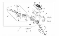 Frame - Front Master Cilinder - Aprilia - Brake lever