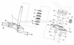 Frame - Steering - Aprilia - PLUG