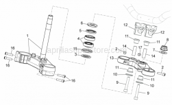 Frame - Steering - Aprilia - U-BOLT