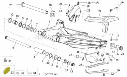 Frame - Swing Arm - Aprilia - Clip m5