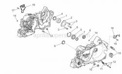 Engine - Crankcases Ii - Aprilia - Snap ring