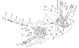 Engine - Cylinder Head - Valves - Aprilia - uppver valve cap
