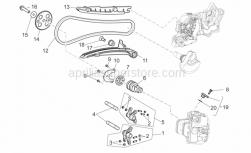 Engine - Front Cylinder Timing System - Aprilia - COMPLETE SENSOR PLUG