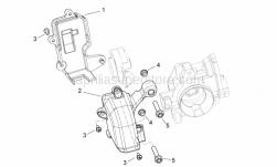 Engine - Throttle Body Protection - Aprilia - Self-tapping screw
