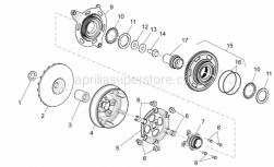 Engine - Transmission I - Aprilia - Belleville spring