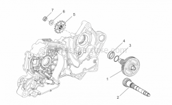 Engine - Transmission Ii - Aprilia - GEAR WHEEL SPINDLE WITH I.P.