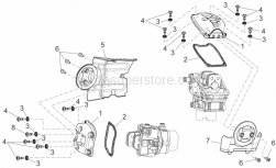 Engine - Valves Cover - Aprilia - CYLINDER COVER