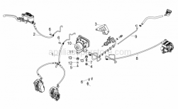 Frame - Abs Brake System - Aprilia - T bush *