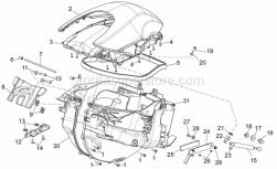 Frame - Central Body I - Aprilia - Case-helmet cover