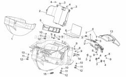 Frame - Central Body Ii - Aprilia - Rubber spacer