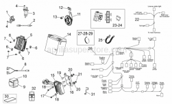 Frame - Electrical System Ii - Aprilia - CVT CONTROL DEVICE