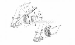 Frame - Front Brake Caliper - Aprilia - LH front brake caliper