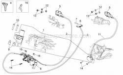Frame - Lock Hardware Kit - Aprilia - LEVER VESPA GT 200