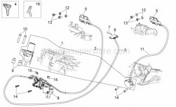 Frame - Lock Hardware Kit - Aprilia - Solenoid valve