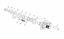 Engine - Grip Shift - Aprilia - Washer 5,2X15X1,5