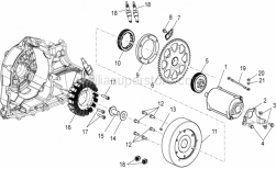 Engine - Ignition Unit - Aprilia - Engine-frame ground wiring