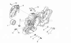 Engine - Oil Filter - Aprilia - Oil pressure sensor