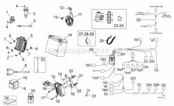 Frame - Electrical System Ii - Aprilia - Fuse 40A