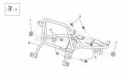 Frame - Front Frame - Aprilia - Rubber spacer