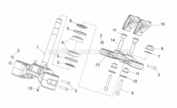 Frame - Steering - Aprilia - Cup